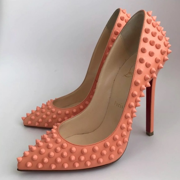half off 7e86f b0afc Christian Louboutin 120mm Pigalle Spike Pumps 38 7